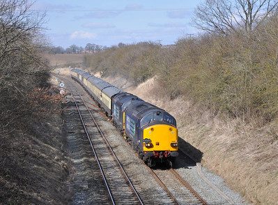 37607 and 37409, Kirkby Thore. 01/04/13.