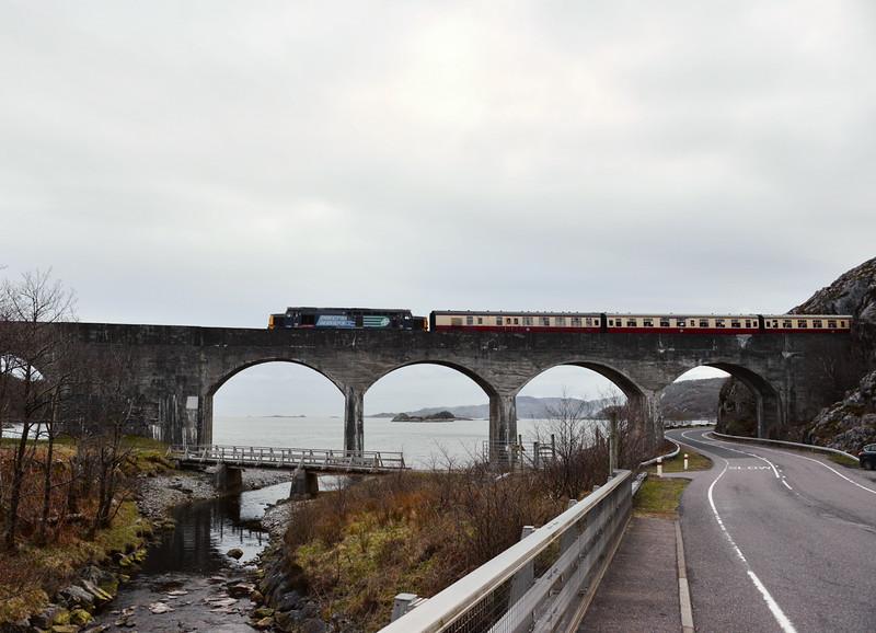 37409, Loch Nan Uamh Viaduct. 23/04/16.
