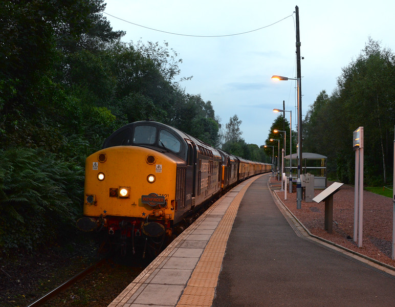 37601 and 37612, Helensburgh Upper. 03/10/16.