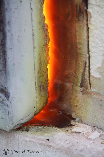 The forge of Hephestus