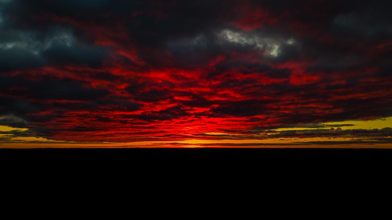 52 Weeks   4 of 52<br /> Fiery sunrise