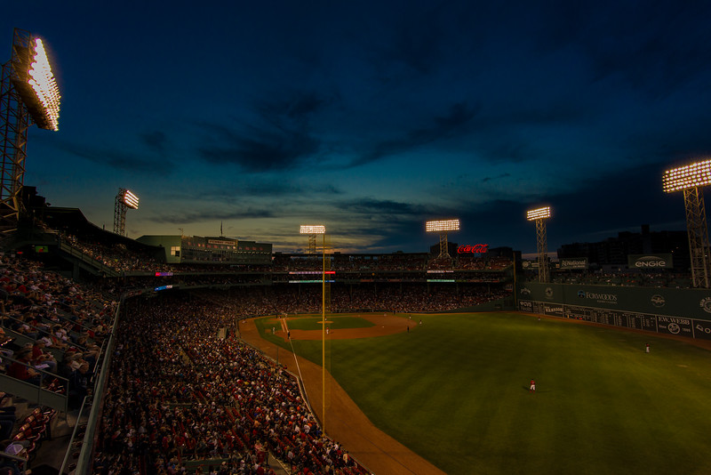 52 Weeks | 36 of 52<br /> September nights at Fenway Park
