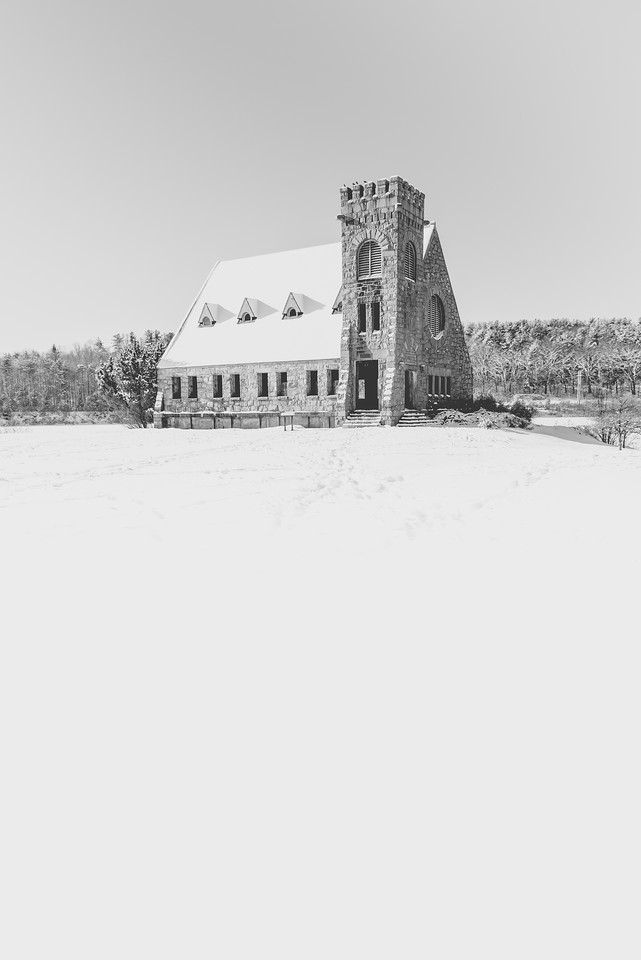 52 Weeks | 3 of 52<br /> Snowy Old Stone Church
