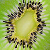 17 Macro: Another experiment - this time with a slice from a Kiwi Fruit with a light underneath.  A good one for a dull, rainy day.