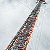 42 Communication:  Where would we be without our phone towers - a very prominent and quite colourful local landmark.