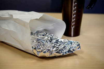 1203 foil  Mystery lunch.