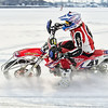 4 Action. Cold weather and a frozenSarnia Bay in the St Clair river brought out the ice racers.  Was passing by and grabbed a few shots of the action - they were just getting warmed up - hard to capture the sense of speed with the camera - must go back and do better before the ice melts!