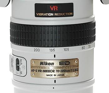 70-200 f/2.8 VR nikor