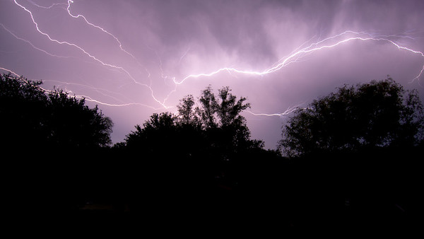 A Dark and Stormy Night in Salado