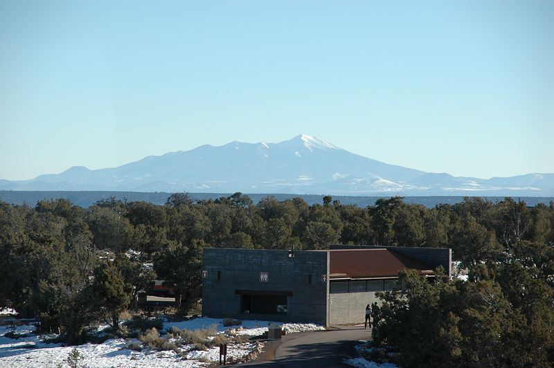 San Francisco Peaks - Mount Humphreys (Flagstaff is on the other side)
