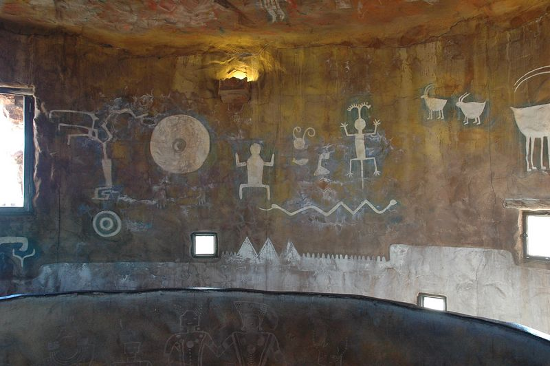 Petroglyphs Tower Wall