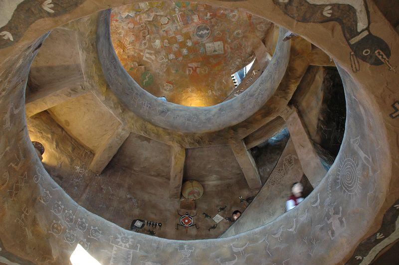 Inside The Watch Tower (Desert View) Looking Up