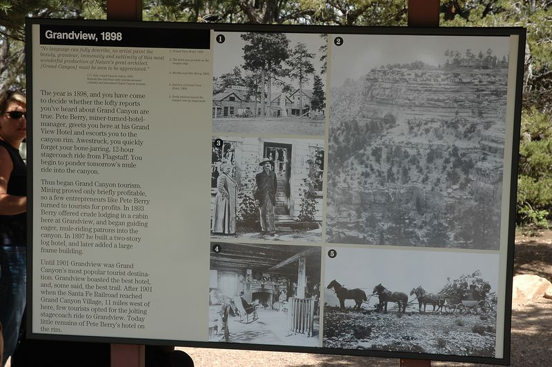Grandview Trail History