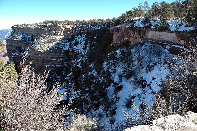 Winter Wonderland From Yavapai Station