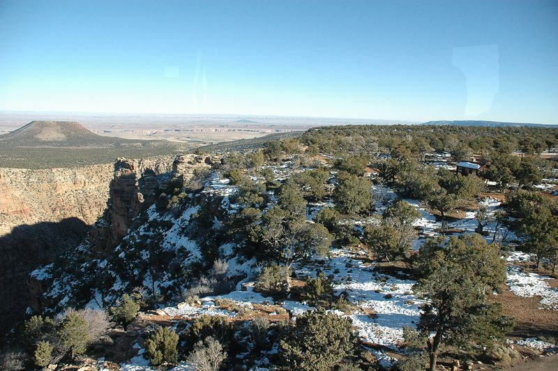 The Desert View From The Tower Looking East