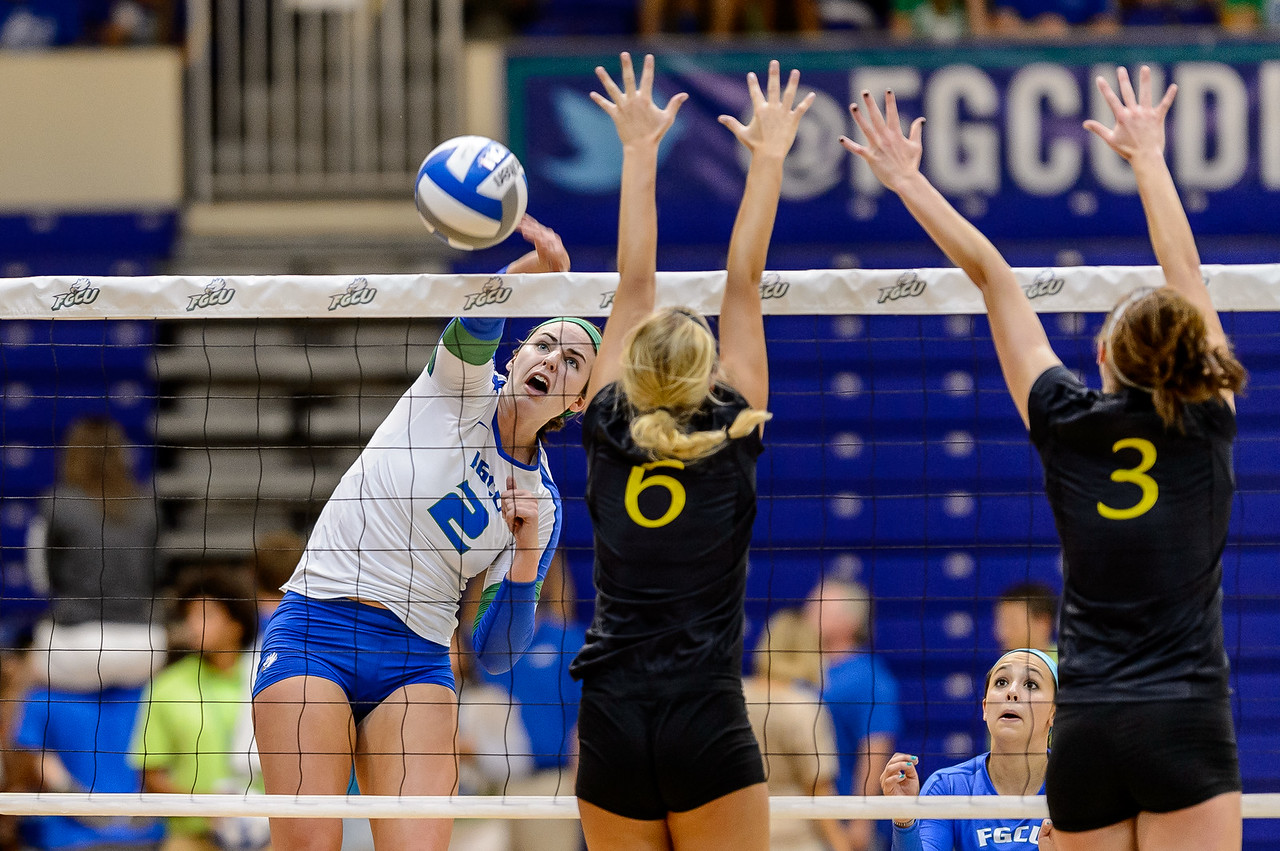 FGCU vs Lipscomb Volleyball 10/18/2013