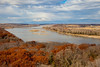 The mighty Platte River on a late fall day.<br /> November 17, 2013