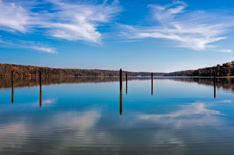 2014-10-24.<br /> Reflections<br /> Hueston Woods, Oxford, OH