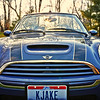12-07-2012. My 2005 Mini. I positioned it in the yard so I could capture the sunset. Also blurred the background slightly. Thank you for your comments on Maia yesterday!