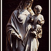2013-03-31. Happy Easter! This is an all white statue of Mary and Jesus. The link to the original image is here: http://kjakes1.smugmug.com/Photography/Newest-Photos/i-jQ4CGT3/0/XL/_V8A3681_original-XL.jpg St. Bernard Church, Cincinnati, OH  Thank you for your kind words and thoughtful comments on my lawn mower shot from yesterday!
