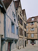 Medieval houses in Auxerre, France (10-2-12)
