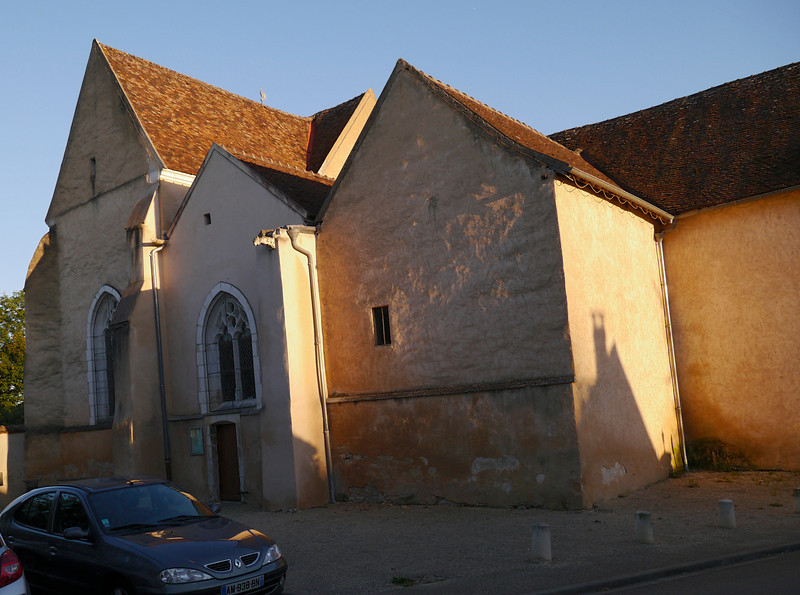 11th century church in Gurgy, France (9-30-12)