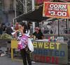 Corn on the cob, street fair in Manhattan (10-20-12)