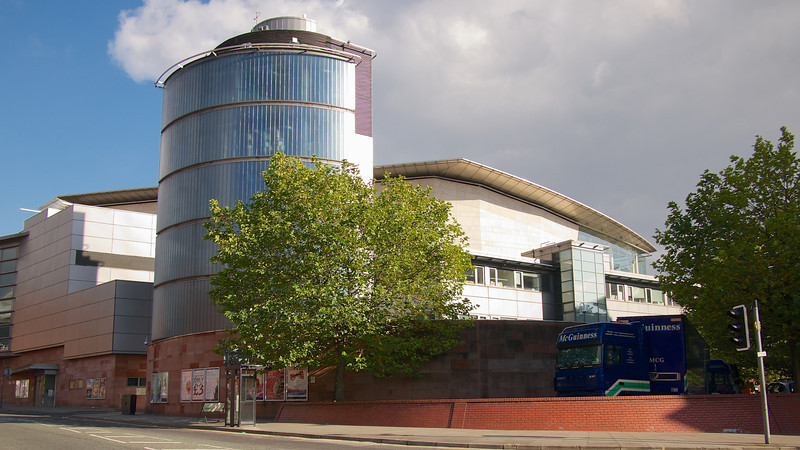 The Bridgewater Hall.