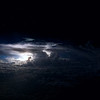 Lightning over the Indian Ocean