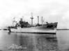 USS Mount Hood (AE-11)<br /> <br /> Date: July 16 1944<br /> Location: Norfolk Navy Yard, Portsmouth VA<br /> Source: William Clarke - National Archives