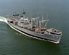USS Suribachi (AE-21)<br /> <br /> Date: August 8 1980<br /> Location: Hampton Roads<br /> Source: Nobe Smith - Atlantic Fleet Sales
