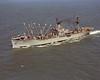 USS Denebola (AF-56)<br /> <br /> Date: October 1965<br /> Location: Hampton Roads VA<br /> Source: Nobe Smith - Atlantic Fleet Sales