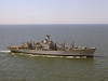 USS San Diego (AFS-6)<br /> <br /> Date: April 27 1974<br /> Location: Hampton Roads VA<br /> Source: Nobe Smith - Atlantic Fleet Sales