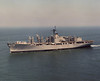 USS San Diego (AFS-6)<br /> <br /> Date: April 12 1985<br /> Location: Hampton Roads VA<br /> Source: Nobe Smith - Atlantic Fleet Sales