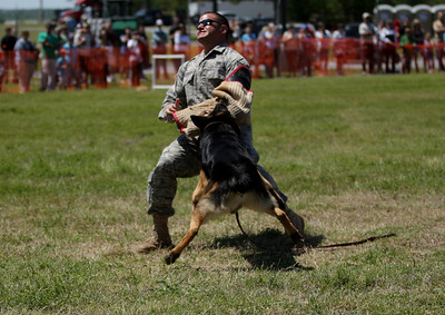 SJAFB Security Force K-9