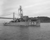 USS Incredible (AM-249)<br /> <br /> Date: February 27 1953<br /> Location: San Francisco Bay CA<br /> Source: Nobe Smith - Atlantic Fleet Sales