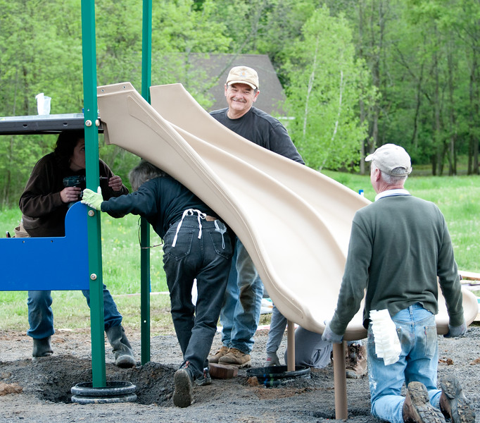 Ancram Playground Build-100