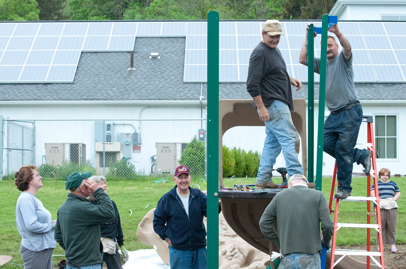 Ancram Playground Build-122