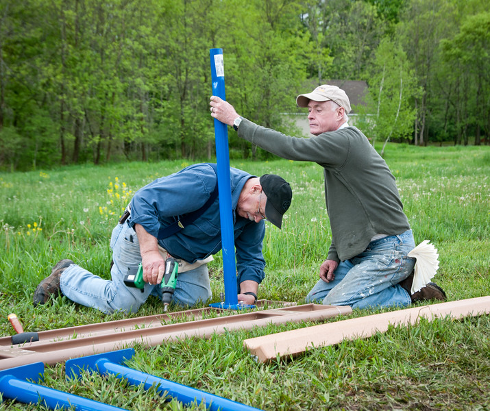 Ancram Playground Build-60