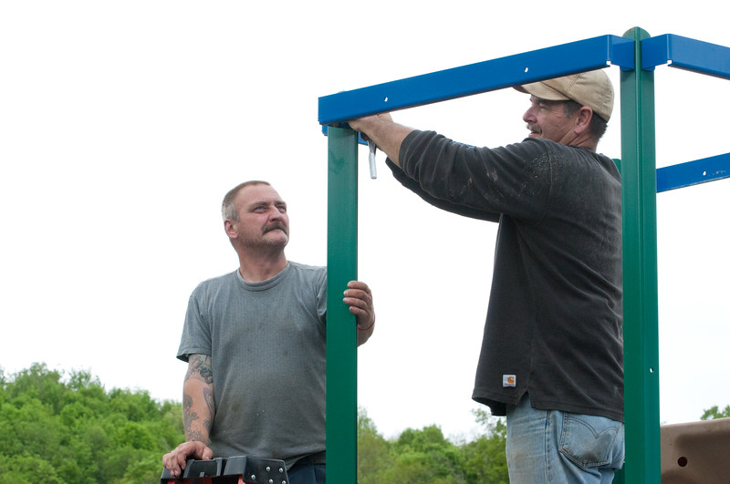 Ancram Playground Build-127