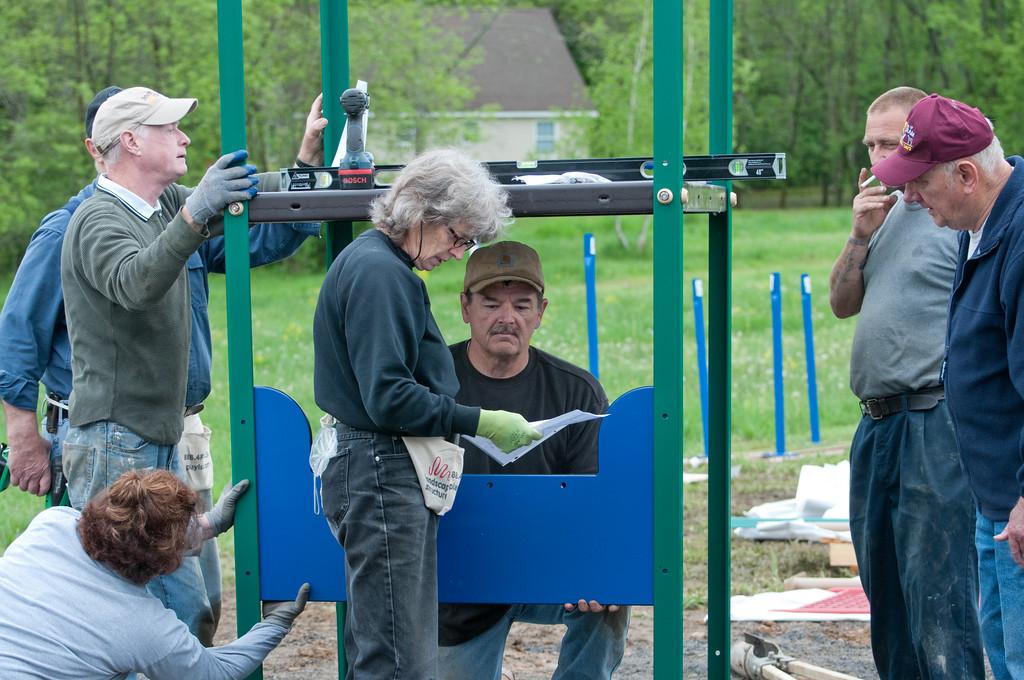 Ancram Playground Build-73