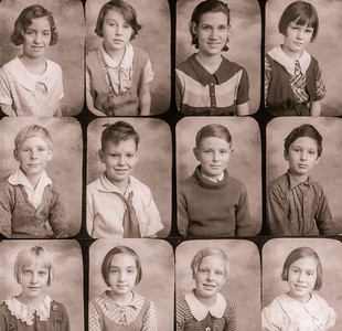 12 school portraits