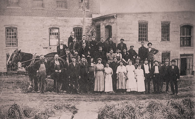 Ancram Mill workers