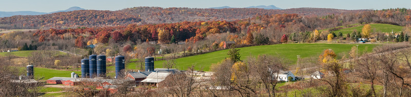 Millerhurst Farm panoramic