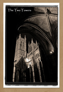 Two Towers, Lincoln Cathedral