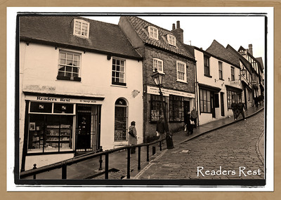 The Readers Rest on Steep Hill