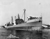 USS Maumee (AO-2)<br /> <br /> Date: March 31 1945<br /> Location: Norfolk Navy Yard<br /> Source: William Clarke - National Archives