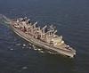 USS Seattle (AOE-3)<br /> <br /> Date: March 1974<br /> Location: Hampton Roads, VA<br /> Source: Nobe Smith - Atlantic Fleet Sales