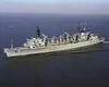USS Seattle (AOE-3)<br /> <br /> Date: October 23 1975<br /> Location: Hampton Roads, VA<br /> Source: Nobe Smith - Atlantic Fleet Sales