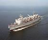 USS Detroit (AOE-4)<br /> <br /> Date: September 20 1983<br /> Location: Hampton Roads VA<br /> Source: Nobe Smith - Atlantic Fleet Sales